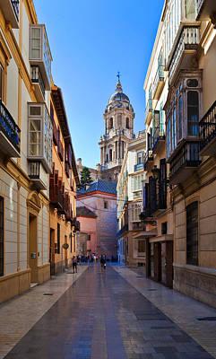 Cathedral De La Encarnation De Malaga Poster