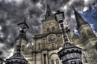 Cathedral New Orleans Poster