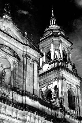 Cathedral Of Bogota Poster by John Rizzuto