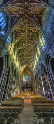 Cathedral Vertorama Poster