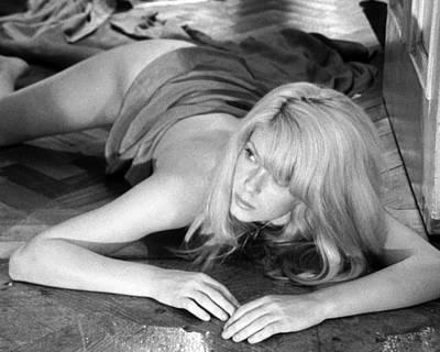 Catherine Deneuve In Repulsion  Poster by Silver Screen