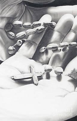 Catholic Art - Rosary Poster