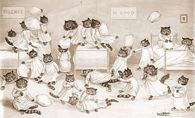 Cathouse Dormitory 1906 Poster