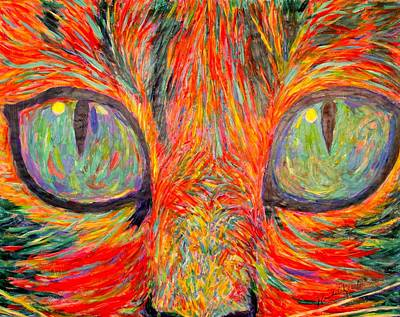 Cats Eyes Poster by Kendall Kessler