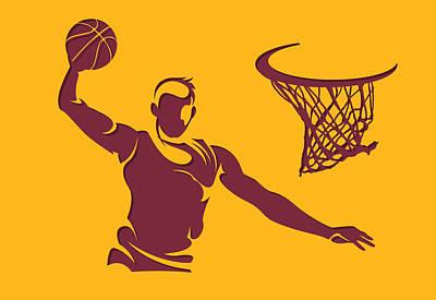 Cavaliers Shadow Player2 Poster by Joe Hamilton