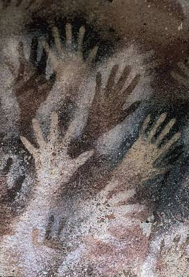 Cave Of The Hands. Argentina. Santa Poster