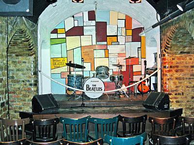 Beatles Cavern Museum Poster