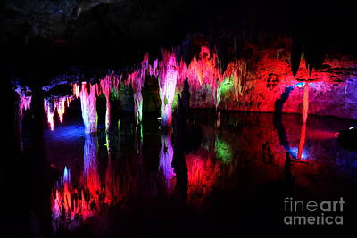 Poster featuring the photograph Caverns by Utopia Concepts