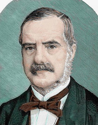 Cecil John Rhodes (1853-1902 Poster