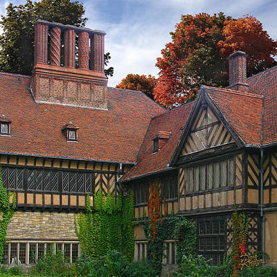 Poster featuring the photograph Cecilienhof Palace by Doug Kreuger