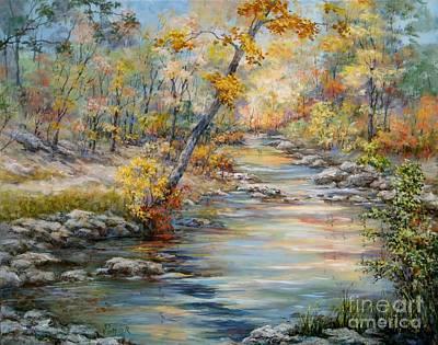 Cedar Creek Trail Poster by Virginia Potter