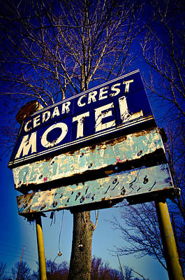 Cedar Crest  Poster by Off The Beaten Path Photography - Andrew Alexander