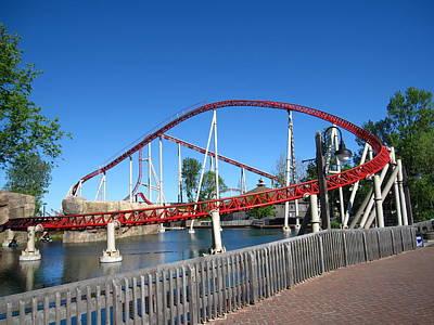 Cedar Point - Iron Dragon - 12121 Poster