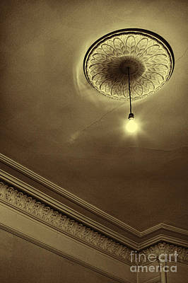 Poster featuring the photograph Ceiling Light by Craig B