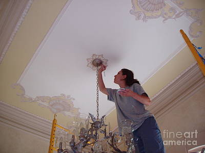 Ceiling Painting Poster