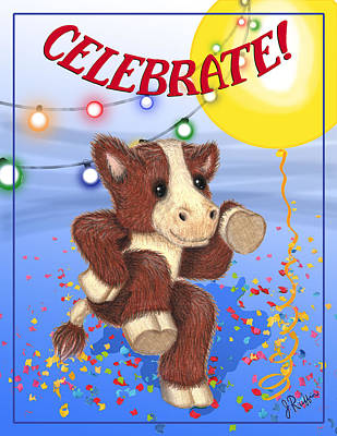 Celebrate Poster by Jerry Ruffin