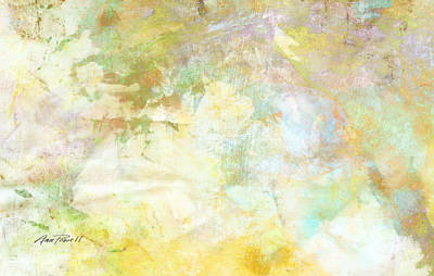 Celebrate Spring Abstract Art  Poster by Ann Powell