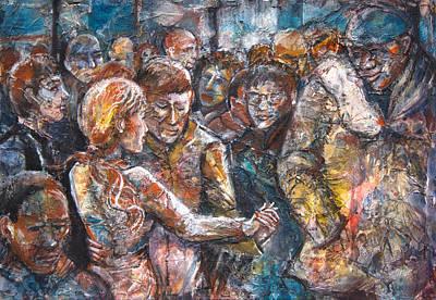 Celebration Dance Poster by Patricia Allingham Carlson