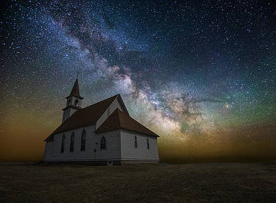 Poster featuring the photograph Celestial by Aaron J Groen