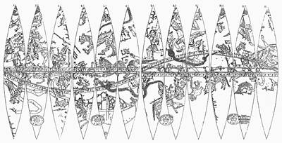 Celestial Globe, 1279 Poster