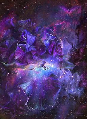 Celestial Goddess Poster by Carol Cavalaris