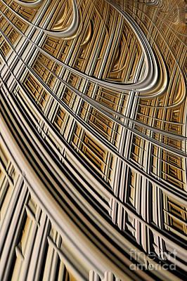 Celestial Harp Poster by John Edwards
