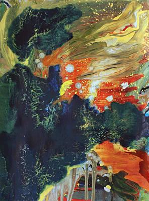 Celestial Landscape Poster by Ethel Vrana