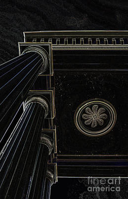 Celestial Pillars Poster by Inspired Nature Photography Fine Art Photography