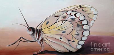 Celine's Butterfly Poster