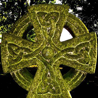 Celtic Cross Poster by David Pyatt