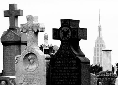 Cemetery City Poster by Steven Macanka