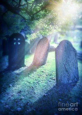 Cemetery Light Poster