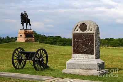 Cemetery Ridge Gettysburg Poster