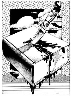 Censorship Poster by David Chestnutt