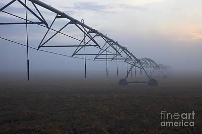 Center-pivot Irrigation Poster by Mike  Dawson