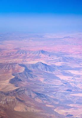 central Fuerteventura from the air Poster by Tamara Kulikova