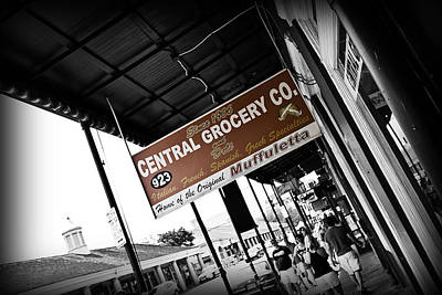 Central Grocery Poster by Scott Pellegrin
