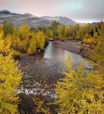 Central Idaho Autumn Poster