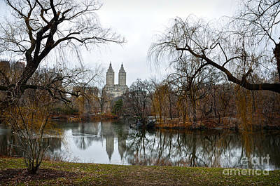 Central Park And San Remo Building In The Background Poster by RicardMN Photography