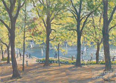 Central Park New York Poster