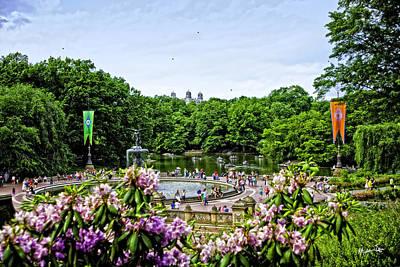 Central Park Spring Poster by Madeline Ellis