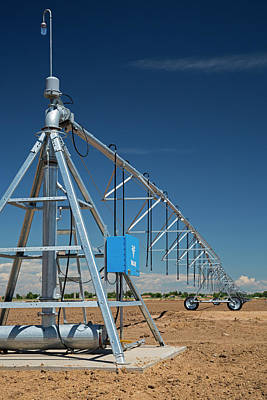 Centre-pivot Irrigation Boom Poster