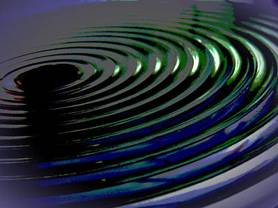 Centrifugal Abstract Poster