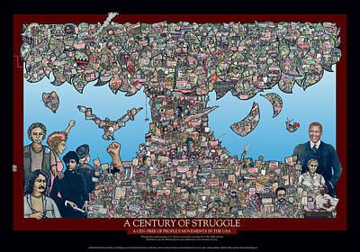Century Of Struggle Poster