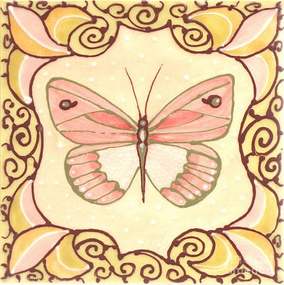 Ceramic Butterfly 2 Poster
