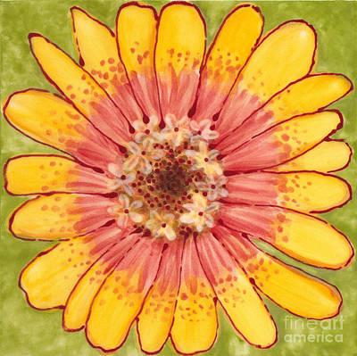 Ceramic Flower 1 Poster