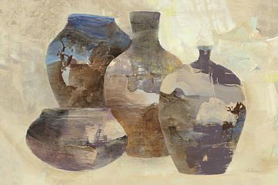 Ceramic Still Life Poster