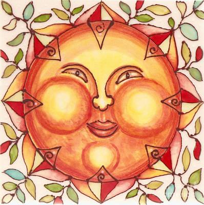 Ceramic Sun 2 Poster