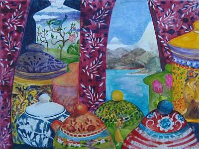 Ceramics View 3 Poster