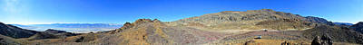 Cerro Gordo Road 360-degree Panorama November 17 2014 Poster by Brian Lockett